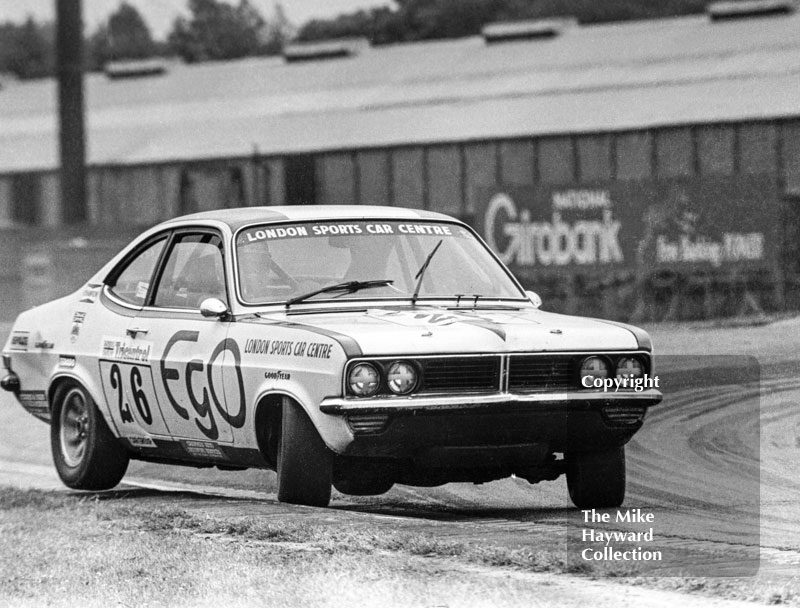 Barrie Williams, London Sports Car Centre Vauxhall Magnum, Tricentrol British Saloon Car Race, Donington Park, 1979