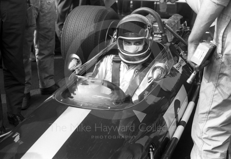 Jacky Ickx, Brabham BT26, Oulton Park Gold Cup 1969.