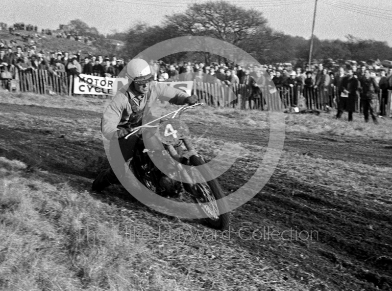 Jeff Smith, BSA, Hawkstone, Shropshire, 1963.