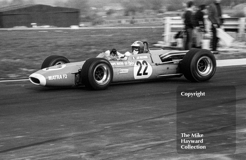 Jean-Pierre Beltoise, Matra MS7, Thruxton, Easter Monday 1968.