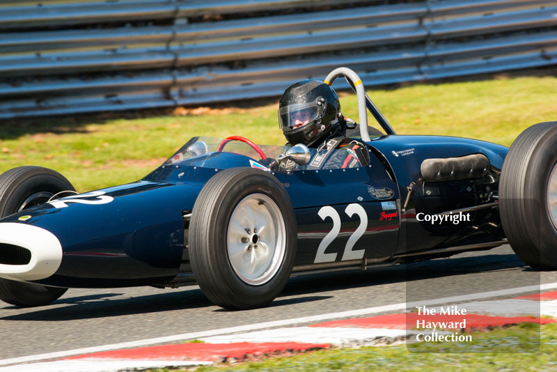 Peter Horseman Lotus 18/21, HGPCA Race For Pre 1966 Grand Prix Cars, 2016 Gold Cup, Oulton Park.