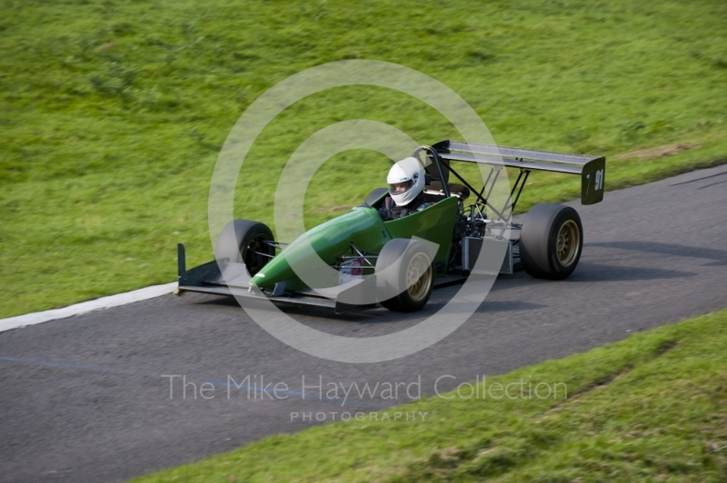 Liam Cooper, Force HC, Hagley and District Light Car Club meeting, Loton Park Hill Climb, September 2013.