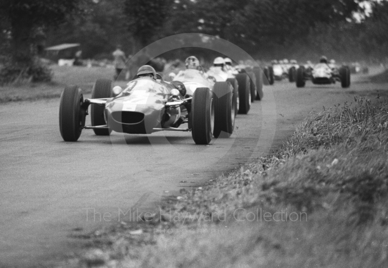 John Fenning, F3 Stockbridge Racing Cooper T76, 1965 Gold Cup, Oulton Park.