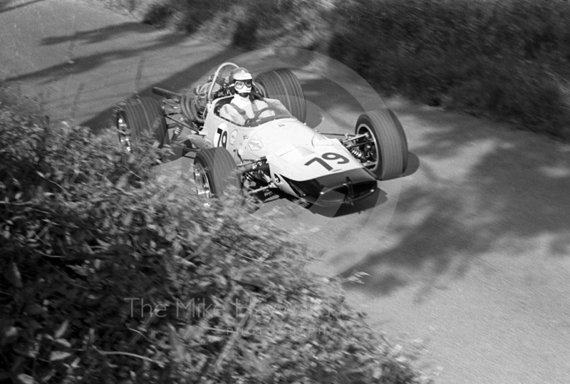 Sir Nicholas Williamson, McLaren Chevrolet, Shelsley Walsh Hill Climb June 1970.