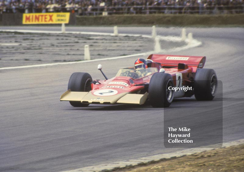 Emerson Fittipaldi, Lotus Turbine 56B, Silverstone, International Trophy 1971.