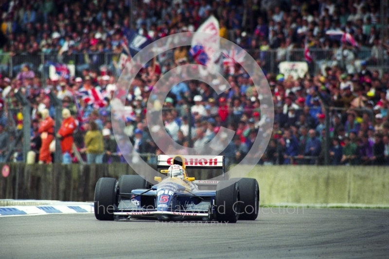 Nigel Mansell, Williams FW14B Renault V10, 1992 British Grand prix, Silverstone