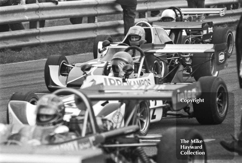 Bob Arnott, March 743, 1975 BARC Super Visco F3 Championship, Thruxton.
