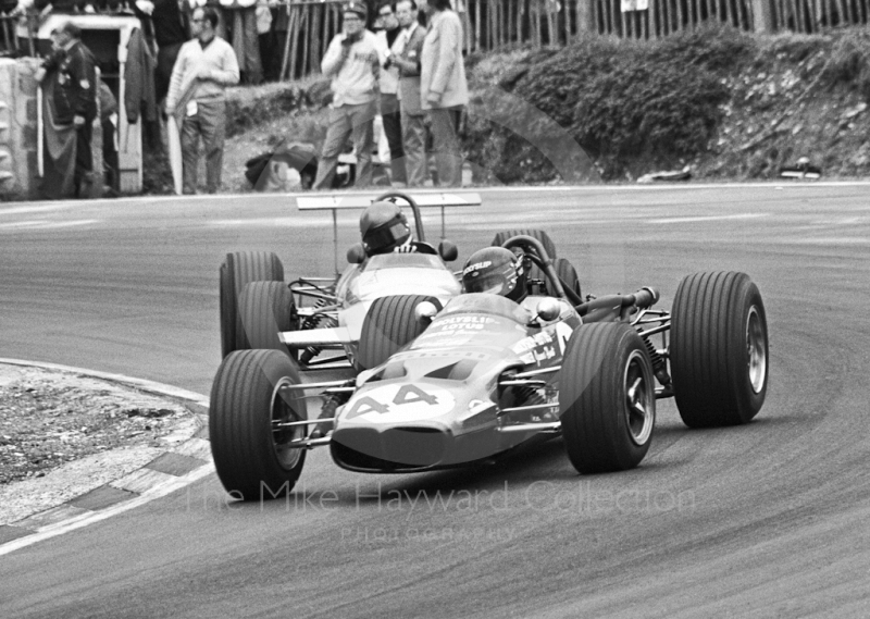 James Hunt, Lotus 59A Holbay, Brands Hatch, British Grand Prix meeting 1970.