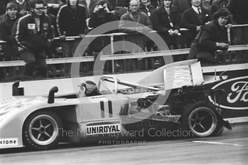 Willi Kauhsen, Porsche 917/10, Silverstone, Super Sports 200 1972.