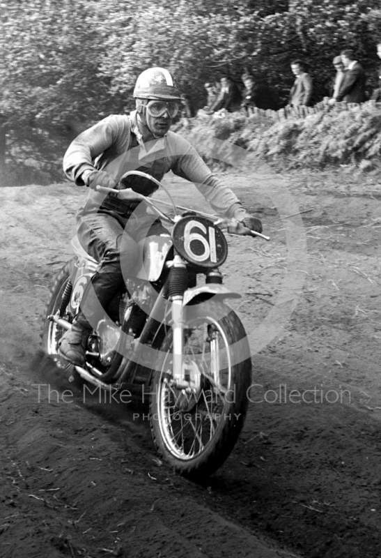 Joe Johnson, Metisse 500, Invitation Race, 1964 Motocross des Nations, Hawkstone Park.