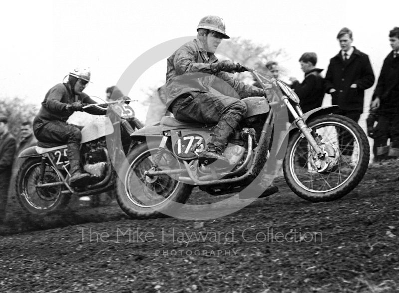 Motocross event at Kinver, Staffordshire, in 1965.