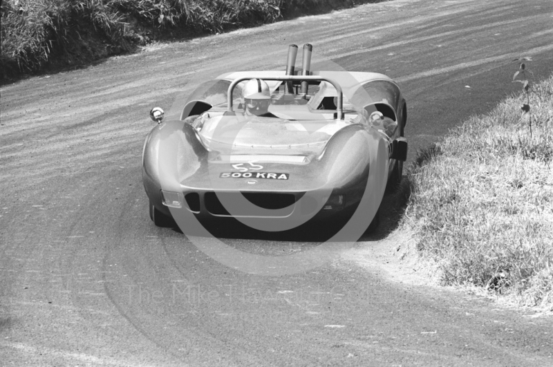 Bob Rose, Mclaren 500 KRA, Shelsley Walsh Hill Climb, June 1967.