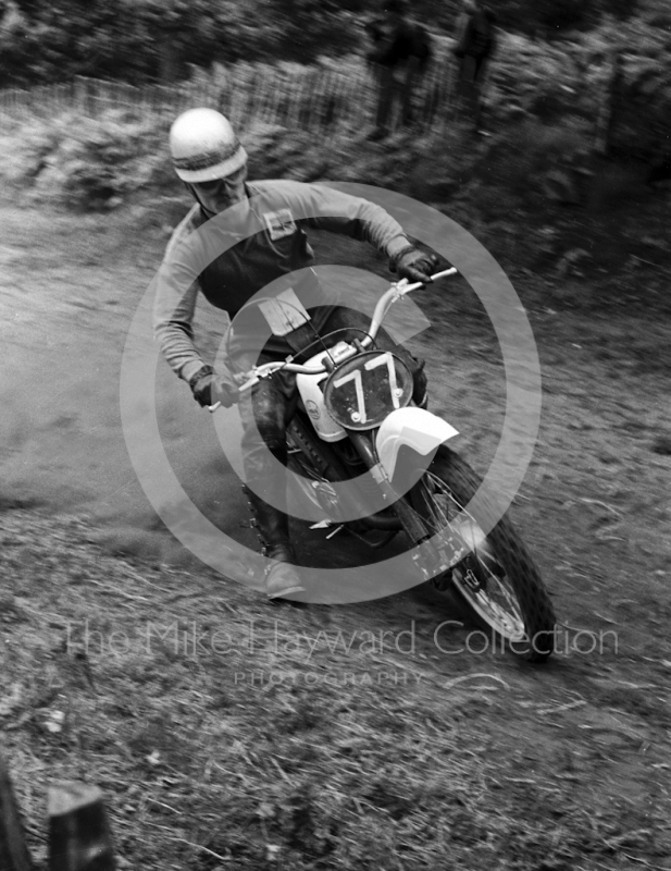 Alan Clough, Greeves 250, Invitation Race, 1964 Motocross des Nations, Hawkstone Park.