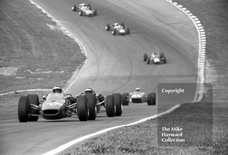 Piers Courage, John Coombs McLaren M4A-2 Ford, Guards European F2 Championship, Brands Hatch, 1967.
