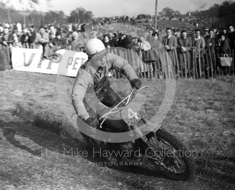 Jeff Smith, BSA, Hawkstone 1963.