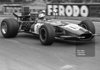 Mike Hailwood, Epstein Cuthbert Racing F5000 Lola T142, Oulton Park Gold Cup 1969.
