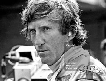 Jochen Rindt in pensive mood, Brands Hatch, British Grand Prix 1970.