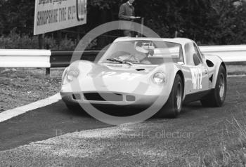 David Good, Chevron GT, Loton Park, September 1968.
