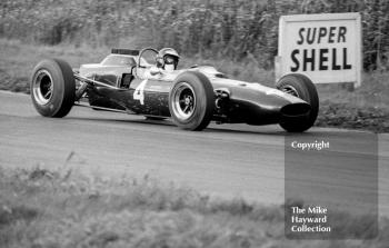 Jim Clark, Ron Harris Lotus 35, 1965 Gold Cup, Oulton Park.