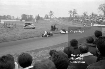 Sidecar action from Oulton Park in 1963.