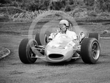 David Hepworth, Green Shield Stamp Special Ferguson 4WD, at Fallow Corner, Loton Park, April 27, 1969.