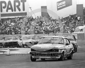 Jonathan Buncombe, Equipe Esso Ford Capri, Tricentrol British Saloon Car Championship race, 1979 British Grand Prix meeting, Silverstone