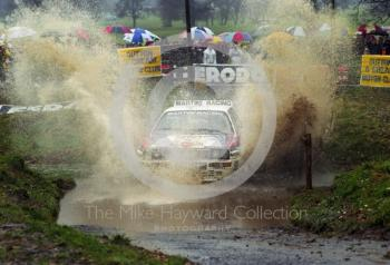 Lancia Martini, 1992 RAC Rally, Weston Park