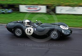 Gary Pearson, Lister Jaguar, in the Sussex Trophy, Goodwood Revival, 1999