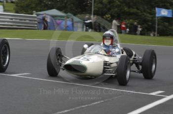 Millers Oils/AMOC Historic Formula Junior Race, Oulton Park Gold Cup meeting 2004.