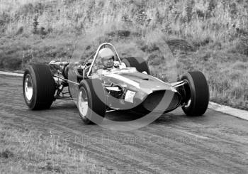 Martin Brain, Cooper, Loton Park Hill Climb, September 1968.