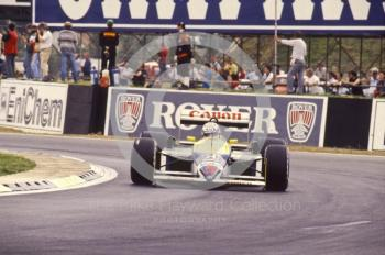 Nigel Mansell, Williams FW11B, Silverstone, 1987 British Grand Prix.