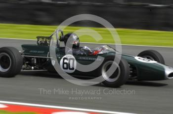 David Crowther, 1966 Brabham BT18, Retro Track and Air Trophy, Oulton Park Gold Cup meeting 2004.
