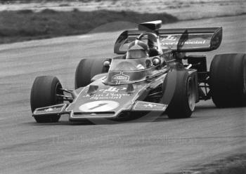Emerson Fittipaldi, John Player Special Lotus 72, Silverstone, International Trophy 1972.