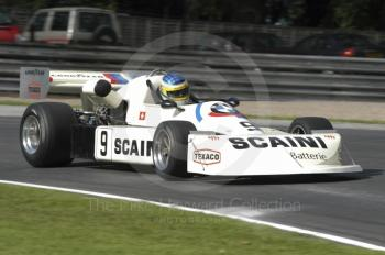 Christian Fischer, 1976 March BMW 762, European Formula 2 Race, Oulton Park Gold Cup meeting 2004.