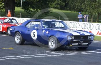 Tim Fish, Chevrolet Camaro 350SS, HSCC Historic Roadsports Championship, Oulton Park Gold Cup, 2002
