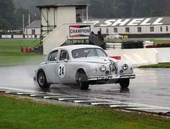 Grant Williams, Jaguar 3.4, St. Mary's Trophy, Goodwood Revival, 1999