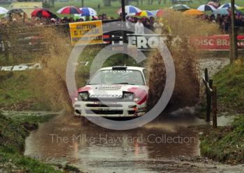 Winner Carlos Sainz, Toyota Celica (K-AM 2163), 1992 RAC Rally, Weston Park