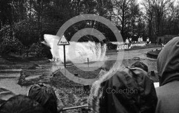 Water splash, Sutton Park, RAC Rally 1982