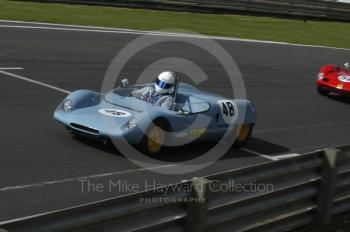 Kelvin Jones, 1962 Lotus 23B, European Sports Prototype Trophy, Oulton Park Gold Cup meeting 2004.