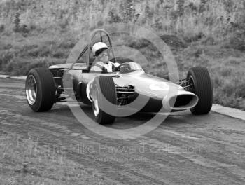 Peter Lawson, BRM 4WD, Loton Park Hill Climb, September 1968.
