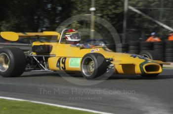 Josef Meyer, 1969 Brabham BT30, European Formula 2 Race, Oulton Park Gold Cup meeting 2004.