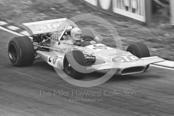 Mario Andretti, STP March 701, British Grand Prix, Brands Hatch, 1970