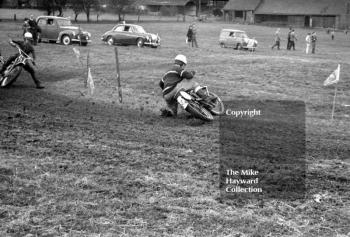 Motocross action at Featherstone, Wolverhampton, in 1963.