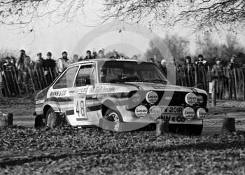 Colin Short/Steve Bond, Ford Escort RS2000 (TW 201R), 1983 Lombard RAC Rally, Sutton Park