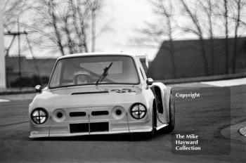 Walter Robertson, Colin Bennett Racing Ltd, Skoda/Hart, Round 1 of the 1981 Motoring News Donington Grand Touring Car Championship.