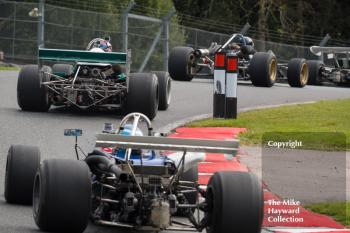 Formula 2 cars at Lodge, 2017 Gold Cup, Oulton Park.
