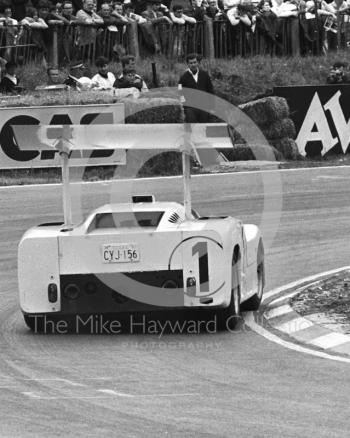Phil Hill/Mike Spence, Chaparral 2F, Brands Hatch, BOAC 500 1967.