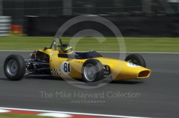 John Goldsmith, 1971 Macon MR8B, Retro Track and Air Trophy, Oulton Park Gold Cup meeting 2004.