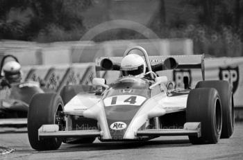 Geoff Lees, Ralt RH6/81 winning the John Howitt F2 Trophy, Donington, 1981