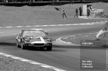 Andrew Hedges/Julian Sutton, Fawdington & Ramsey Ltd Lotus 47, Brands Hatch, 1968 BOAC.
